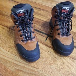 Timberland pro series boys boots size 7W